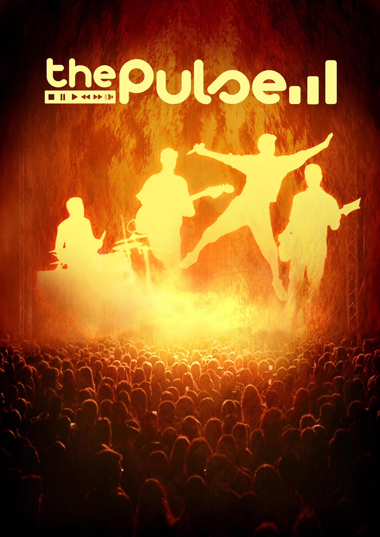 Affiche concert the pulse visuel foule public concert rock funk festif toulouse ambiance mariage